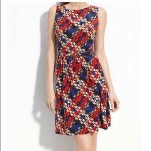 Trina Turk 100% Silk Shift Dress